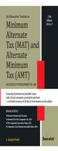 MINIMUM ALTERNATE TAX (MAT) and ALTERNATE MINIMUM TAX (AMT)